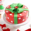 Christmas Gift Cake (Eggless) (2 Kg)