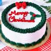 Christmas Pineapple Cake (Eggless) (1Kg)