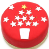Christmas Star 10 inches Cake