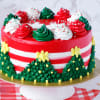 Buy Christmas Theme Truffle Cake