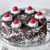 Classic Black Forest Cake (Eggless) (Half Kg)