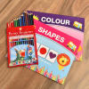 Classic Color Pencils with Cute Stickers