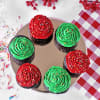 Gift Colorful Chocolate Cupcakes (Set of 6)