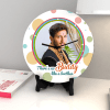 Buy Colorful Personalized Clock with Roli Chawal