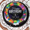 Buy Colourful Birthday Wishes Cake (Eggless) (Half Kg)