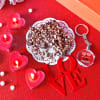 Customize Key Chain With Candles & Cookies