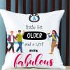 Customize Satin Pillow with Message