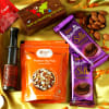 Customized Telescope with Dairy Milk Silk Chocolates & Almonds Hamper