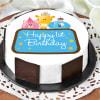 Cute Animals First Birthday Cake for Boy (Half Kg)