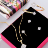 Cz Designed Jewelry Set in a Gift Box