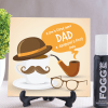 Dad Ceramic Tile with Fogg Deo