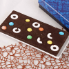Dark Chocolate Bar Topped with Polo & Gems