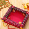 Decorative Bhaidooj Tikka Thali