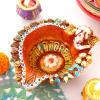 Decorative Ganesha Diya