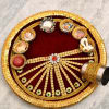 Decorative Karwa Poojan Thali