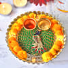 Decorative LED Puja Thali