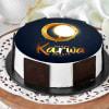 Delicious Karwa Chauth Cake (Eggless) (Half Kg)
