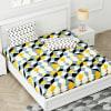 Gift Designer Bedsheet with Geometric Patterns