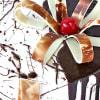 Shop Designer Chocolate Vanilla Cake (Eggless) (1 Kg)