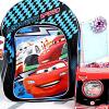 Disney Car Alarm Clock with Backpack