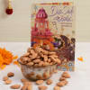Diwali Card With 200 Gms Almonds