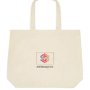 Ecofriendly Deluxe Tote Bag - Customize with Logo And Message