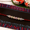 Elegant Beaded Rakhi Thread