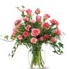 Fairy Tale Pinks - Glass Vase Arrangement