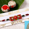 Fancy Beaded Rakhi