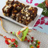 Fancy Bhaiya-Bhabhi Rakhi with Anjeer Dry fruits Sugar Free Sweets