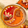 Fancy Big Tikka Thali for Bhaidooj