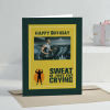 Fats Cry Personalized Birthday Greeting Card