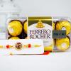 Ferrero Chocolate with Designer Ik Omkar Rakhi