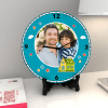 Gift Fill your home with love Personalized Clock & Card combo