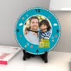 Buy Fill your home with love Personalized Clock & Card combo