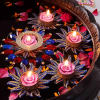 Flower Shape Floating Diyas