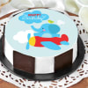 Flying Elephant Birthday Cake (1 Kg) Online