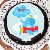 Buy Flying Elephant Birthday Cake (Eggless) (Half Kg)