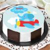 Flying Elephant Birthday Cake (Half Kg)