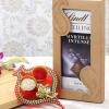 Ganesha Tikka Holder With Lindt Blueberry Intense