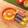 Ganesha Tikka Thali with Twix & Snickers