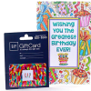 GAP $25 Gift Card With Birthday Greeting Card