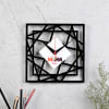 Geometric Design Personalized Wall Clock for Mom