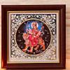 Goddess Durga Fiber Frame
