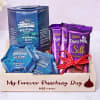 Gourmet Hamper in Personalized Wooden Tray