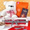 Gourmet Treats with Teddy Bear Gift Hamper