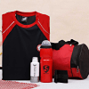 Gym Gear Hamper With Park Avenue Body Spray