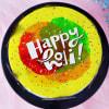 Shop Happy Holi Celebration Poster Cake (Half Kg)