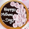 Gift Happy Mother's Day Yummy Chocolate Cake (Half Kg)