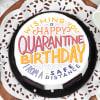 Buy Happy Quarantine Birthday Cake (Eggless) (1 Kg)